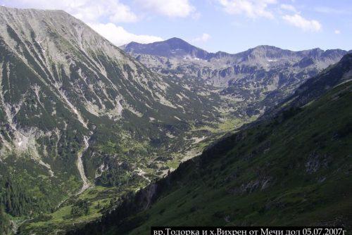 Η κορυφή Todorka και η καλύβα Vihren | Lucky Bansko
