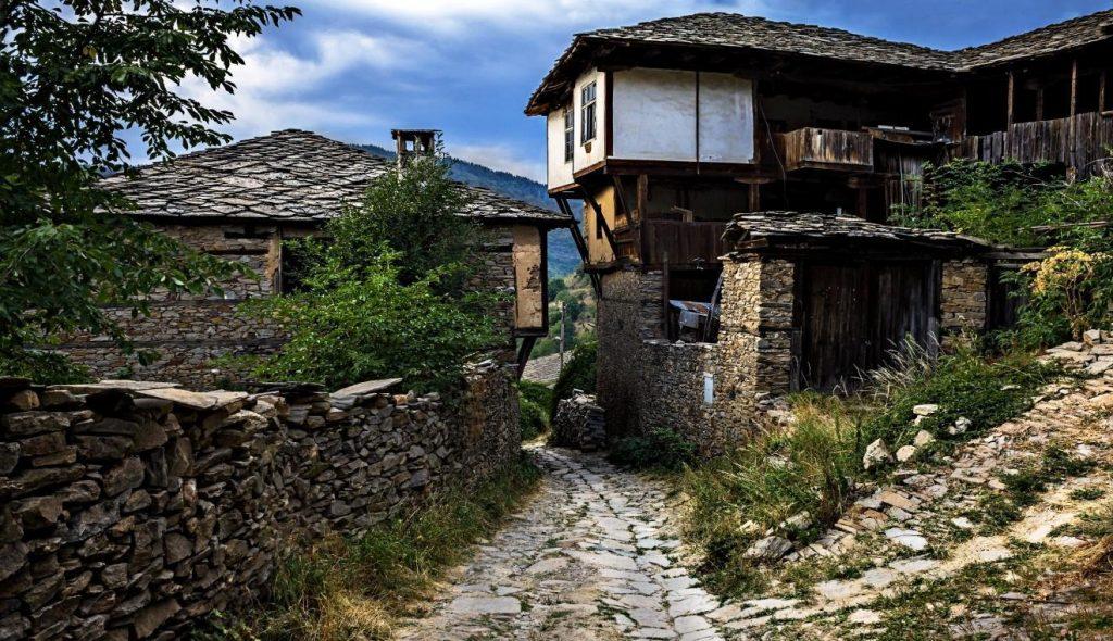 Kovachevitsa köyünde eski ev