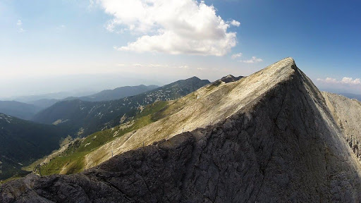 Peak Vihren στα βουνά του Πιρίν