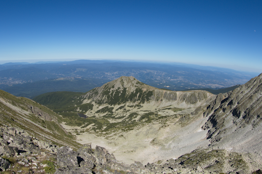 Peak Bezbog in the Pirin Mountains