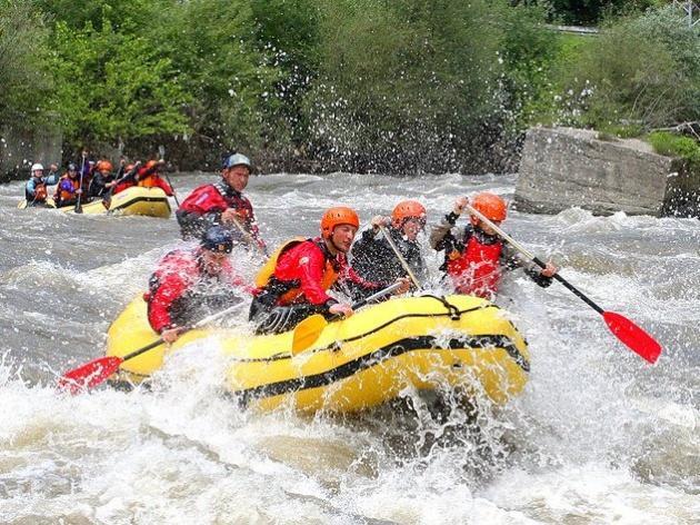 Rafting i vožnja kajakom u Banskom