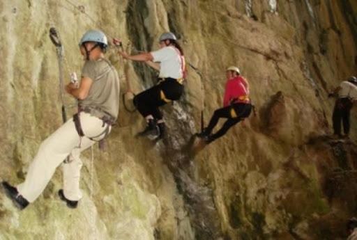 Pirin Dağı'nda kaya tırmanışı