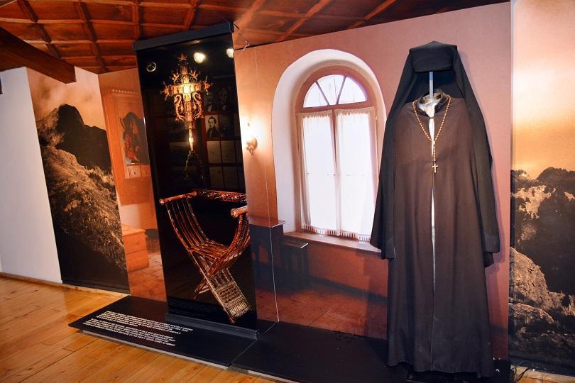 Лични вещи в музей на Неофит Рилски в Банско