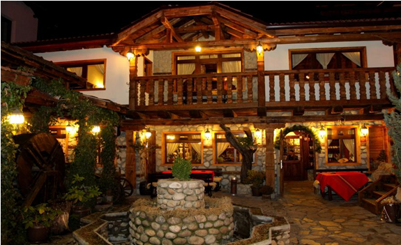 The taverns in Bansko