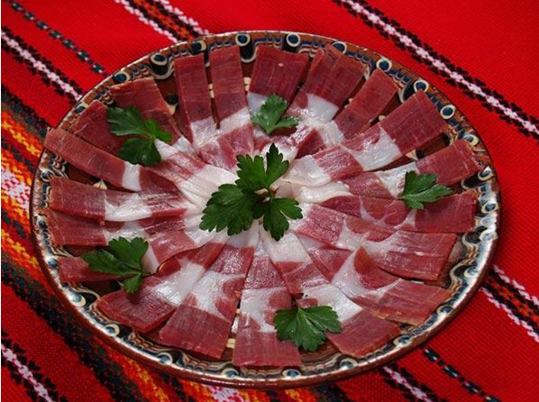 The traditional cuisine of Bansko