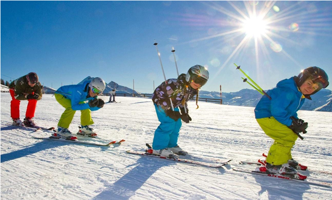 Ski schools in the town of Bansko