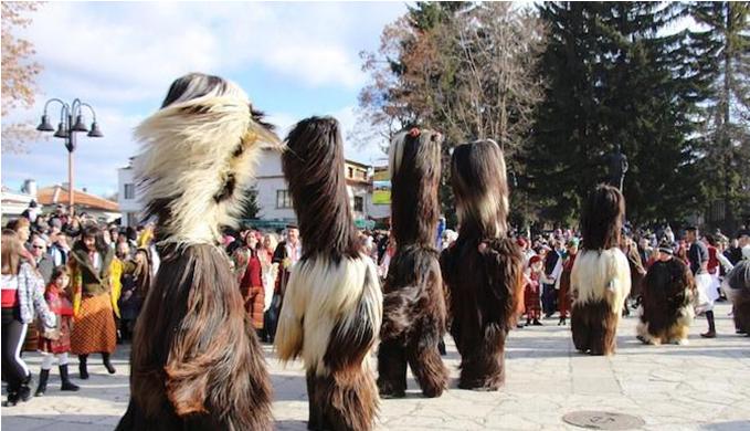 Παραδοσιακό Καρναβάλι Kuker στο Μπάνσκο