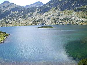 Popovo Lake in the Pirin Mountains