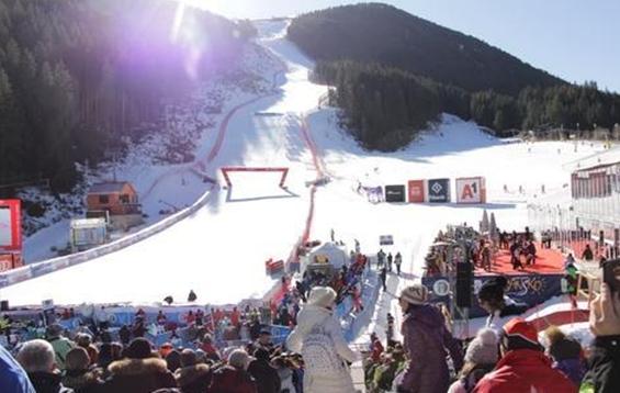 Спортните състезания в Банско